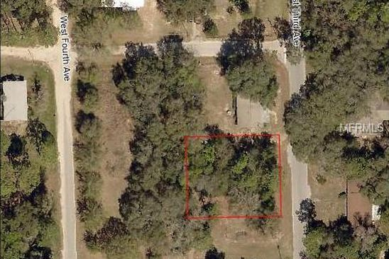 null bed null bath Vacant Land at  W THIRD AVE UMATILLA, FL, 32784 is for sale at 18k - google static map