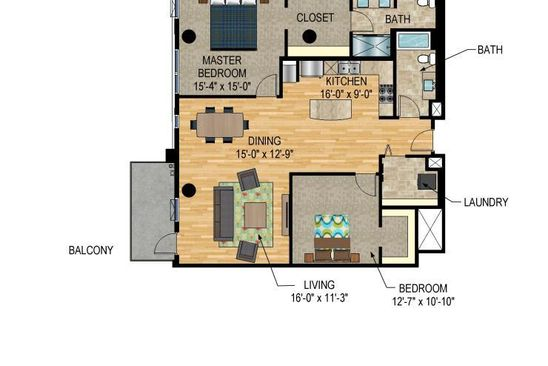 2 bed 2 bath Condo at 1240 S 2nd St Minneapolis, MN, 55415 is for sale at 575k - google static map