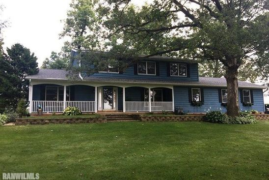 3 bed 2.5 bath Single Family at 10676 W RADERS RD PEARL CITY, IL, 61062 is for sale at 250k - google static map