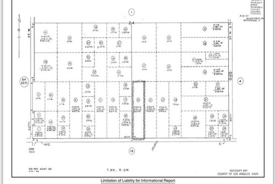 null bed null bath Vacant Land at 45 Ave E and Vic 45 Stw Lancaster, CA, 93536 is for sale at 170k - google static map