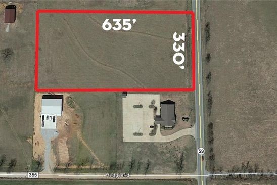 null bed null bath Vacant Land at  Hwy 59 Gravette, AR, 72736 is for sale at 100k - google static map