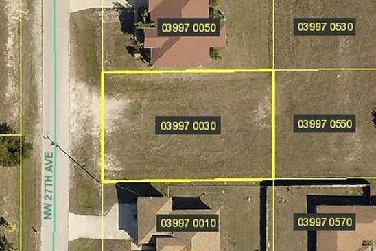 null bed null bath Vacant Land at 405 NW 27TH AVE CAPE CORAL, FL, 33993 is for sale at 14k - google static map