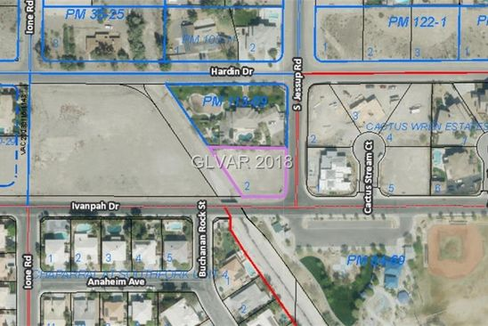 null bed null bath Vacant Land at 0 Jessup and Ivanpah Henderson, NV, 89074 is for sale at 220k - google static map