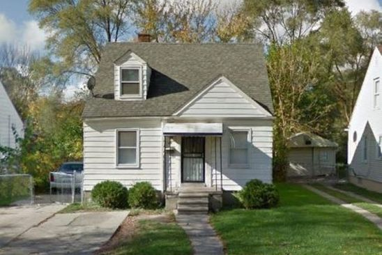 3 bed 1 bath Single Family at 11671 Evergreen Ave Detroit, MI, 48228 is for sale at 45k - google static map