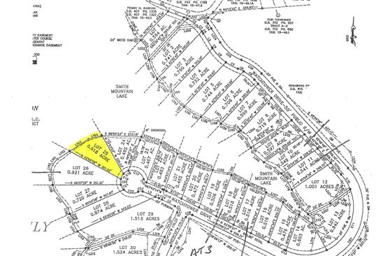 null bed null bath Vacant Land at  Watchtower Dr Moneta, VA, 24121 is for sale at 280k - google static map