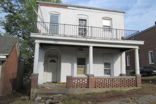 3 bed 2 bath Single Family at 314 Cherry St Jefferson City, MO, 65101 is for sale at 25k - google static map