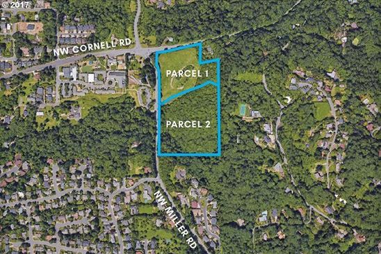 null bed null bath Vacant Land at NW Cornell and Miller Rd Portland, OR, 97229 is for sale at 7.00m - google static map