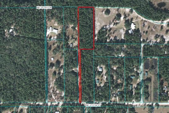 null bed null bath Vacant Land at 10715 NE 210TH ST FORT MC COY, FL, 32134 is for sale at 13k - google static map