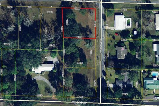 null bed null bath Vacant Land at  Tbd NW 8th St Williston, FL, 32696 is for sale at 25k - google static map