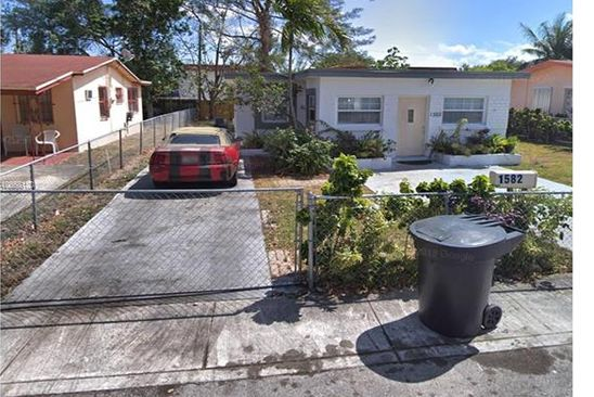 3 bed 1 bath Single Family at 1582 NE 151st Ter North Miami Beach, FL, 33162 is for sale at 285k - google static map