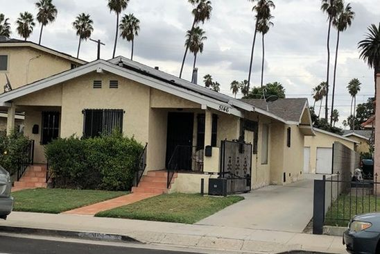 4 bed 2 bath Multi Family at 5144 ARLINGTON AVE LOS ANGELES, CA, 90043 is for sale at 499k - google static map