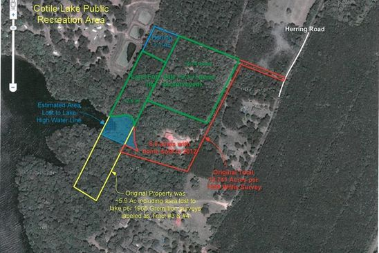 null bed null bath Vacant Land at 20 Herring Rd Boyce, LA, 71409 is for sale at 235k - google static map