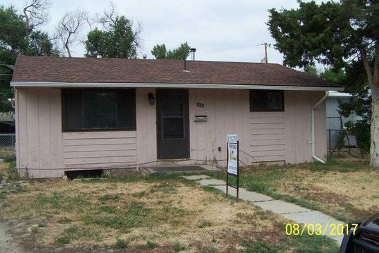 2 bed 1 bath Single Family at 1446 KIT CARSON AVE CASPER, WY, 82604 is for sale at 89k - google static map
