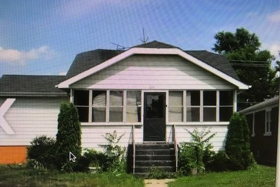 5 bed 2 bath Single Family at 579 FREELAND AVE CALUMET CITY, IL, 60409 is for sale at 136k - google static map