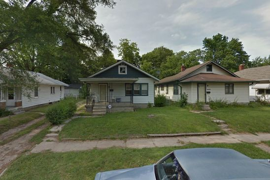 2 bed 1 bath Single Family at 2604 Brookway St Indianapolis, IN, 46218 is for sale at 35k - google static map