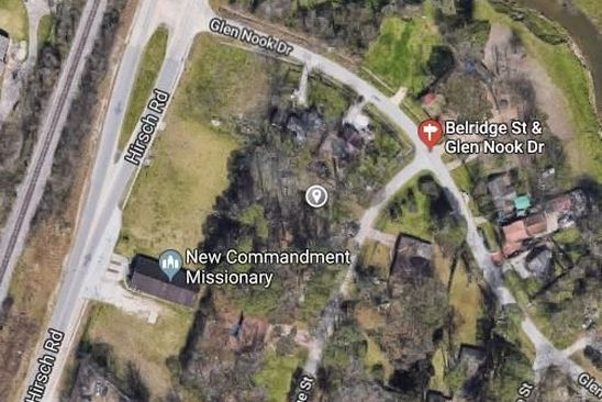 null bed null bath Vacant Land at  BELRIDGE ST HOUSTON, TX, 77016 is for sale at 25k - google static map