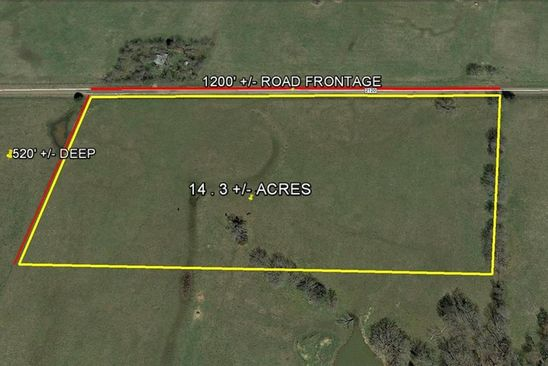 null bed null bath Vacant Land at  0000 Vz CR Wills Pt, TX, 75169 is for sale at 110k - google static map