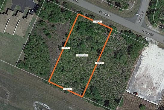 null bed null bath Vacant Land at 26325 Explorer Rd Punta Gorda, FL, 33983 is for sale at 29k - google static map