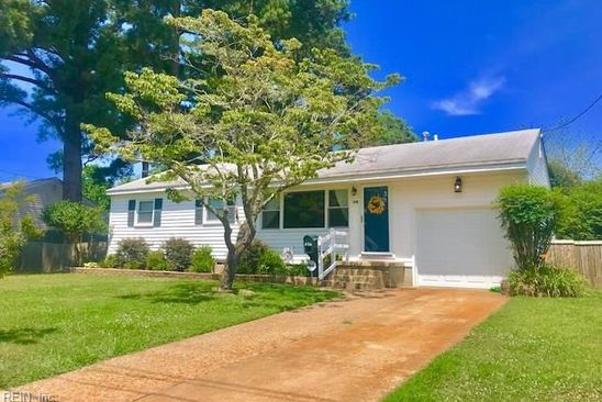 3 bed 1 bath Single Family at 240 GREENWOOD LN VIRGINIA BEACH, VA, 23452 is for sale at 210k - google static map