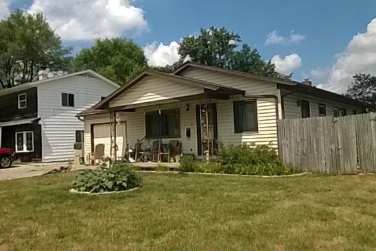 3 bed 3 bath Single Family at 1227 GLENWOOD AVE FORT WAYNE, IN, 46805 is for sale at 125k - google static map