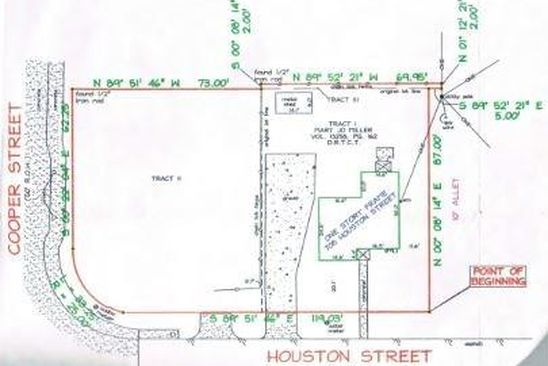 null bed null bath Vacant Land at 708 Houston St Arlington, TX, 76012 is for sale at 195k - google static map