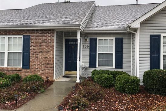 2 bed 2 bath Condo at 705 GLEN GATE CIR KERNERSVILLE, NC, 27284 is for sale at 105k - google static map