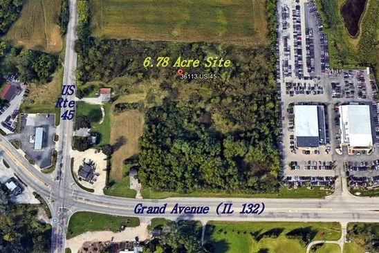 null bed null bath Vacant Land at 36113 N US HIGHWAY 45 LAKE VILLA, IL, 60046 is for sale at 3.20m - google static map