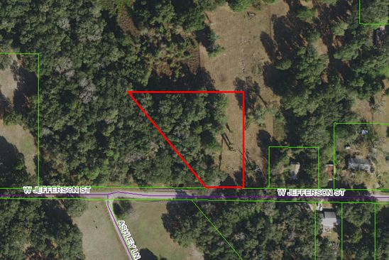 null bed null bath Vacant Land at 260 W Jefferson St Center Hill, FL, 33514 is for sale at 15k - google static map