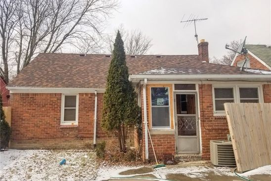 3 bed 1 bath Single Family at 9256 Westwood St Detroit, MI, 48228 is for sale at 50k - google static map