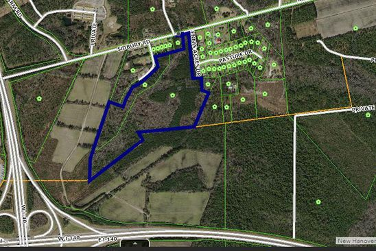 null bed null bath Vacant Land at 5530 SIDBURY RD CASTLE HAYNE, NC, 28429 is for sale at 2.85m - google static map