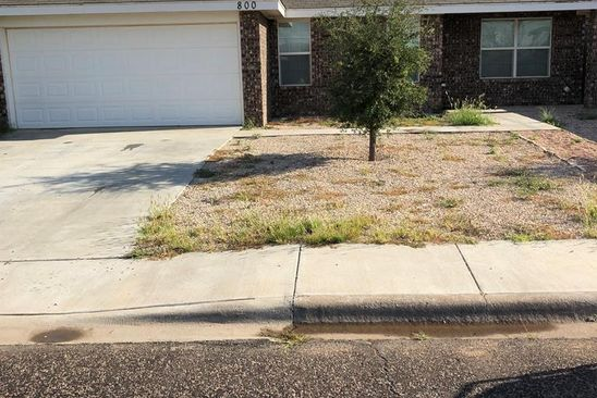 3 bed 2 bath Single Family at 800 DUKE AVE ODESSA, TX, 79765 is for sale at 210k - google static map