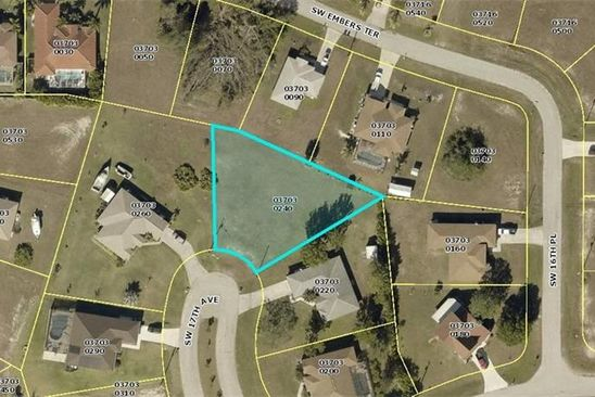 null bed null bath Vacant Land at 15 SW 17TH AVE CAPE CORAL, FL, 33991 is for sale at 19k - google static map