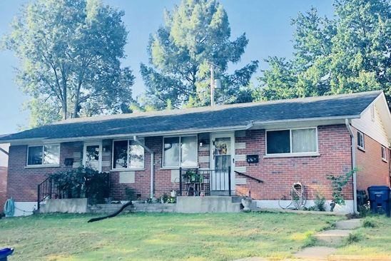 4 bed 3 bath Single Family at 214 CARRINGTON LN SAINT LOUIS, MO, 63125 is for sale at 150k - google static map