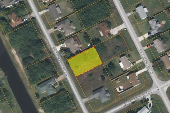 null bed null bath Vacant Land at 2081 SW MONTERREY LN PORT SAINT LUCIE, FL, 34953 is for sale at 36k - google static map