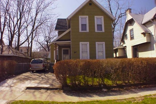 4 bed 2 bath Multi Family at 1 8th St Rochester, NY, 14609 is for sale at 55k - google static map