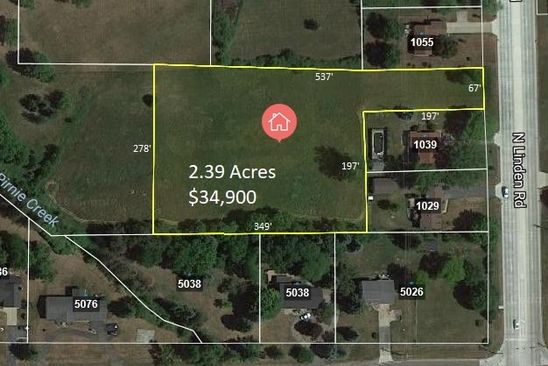 null bed null bath Vacant Land at 0 N Linden Rd N Flint, MI, 48532 is for sale at 20k - google static map