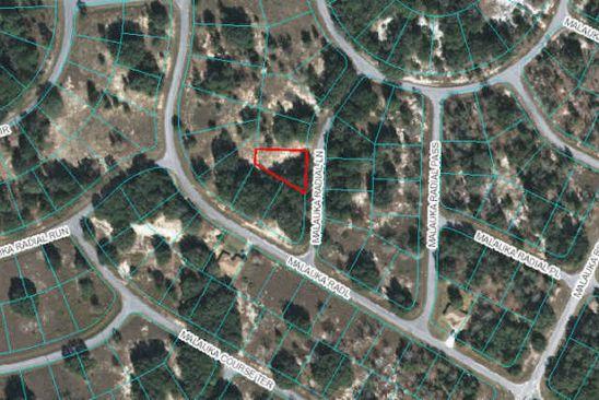 null bed null bath Vacant Land at 00 Malauka Radial Lane Ln Ocklawaha, FL, 32179 is for sale at 4k - google static map