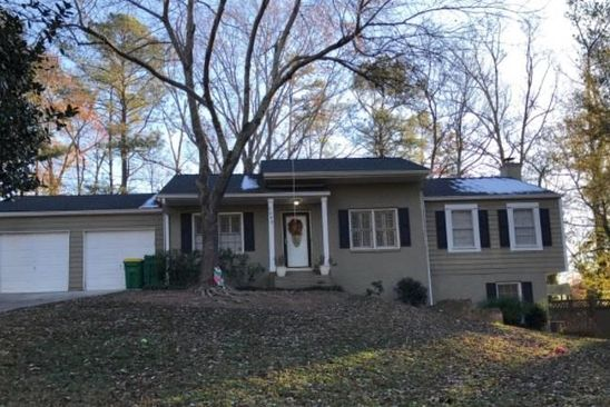 3 bed 3 bath Single Family at 5295 GREEN HILL PL SANDY SPRINGS, GA, 30342 is for sale at 325k - google static map