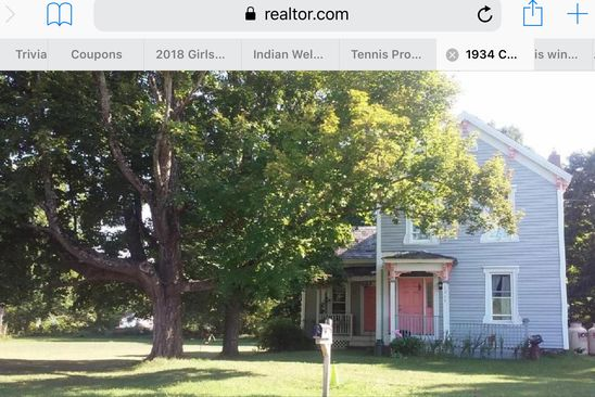 4 bed 3 bath Single Family at 1934 CREEK RD CROWN POINT, NY, 12928 is for sale at 85k - google static map