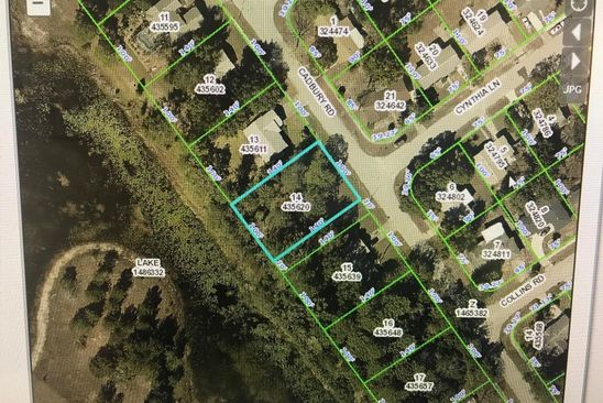 null bed null bath Vacant Land at  Cadbury Rd Spring hill, FL, 34606 is for sale at 24k - google static map