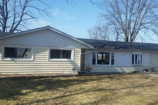 3 bed 2 bath Single Family at 25304 S SANGAMON ST CRETE, IL, 60417 is for sale at 90k - google static map