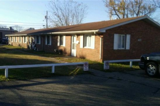 2 bed 1 bath Multi Family at 407 Florence St Belpre, OH, 45714 is for sale at 160k - google static map