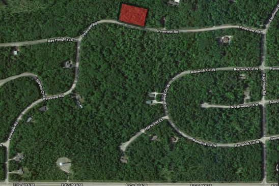 null bed null bath Vacant Land at  Pineview Road Lots 282 283 Presque Isle, MI, 49777 is for sale at 4k - google static map