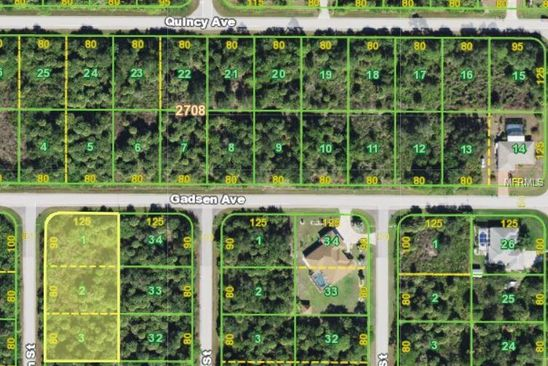 null bed null bath Vacant Land at 17399 Gadsen Ave Port Charlotte, FL, 33948 is for sale at 24k - google static map