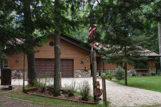 3 bed 2 bath Single Family at 2027 Rangeline Rd Eagle River, WI, 54521 is for sale at 265k - google static map