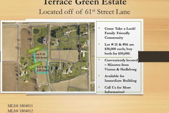 0 bed null bath Vacant Land at  Terrace Green Est Vinton, IA, 52349 is for sale at 30k - google static map