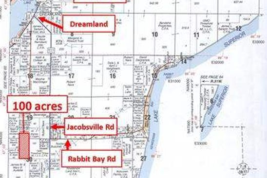 0 bed null bath Vacant Land at  Jacobsville Rd Lake Linden, MI, 49945 is for sale at 119k - google static map