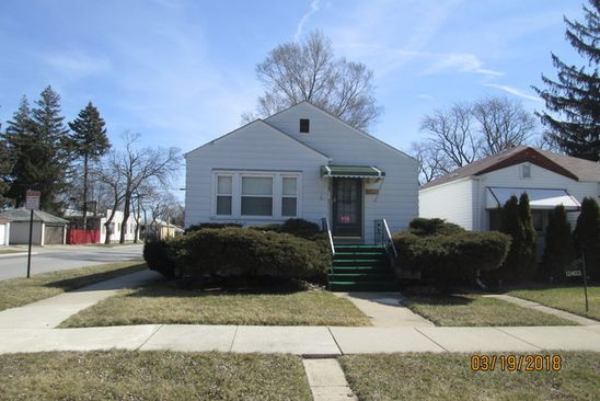 3 bed 2 bath Single Family at 12401 S Aberdeen St Calumet Park, IL, 60827 is for sale at 70k - google static map