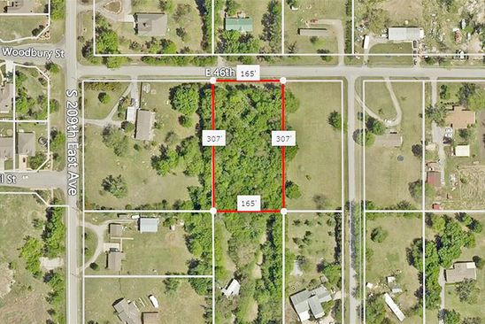 null bed null bath Vacant Land at  E 46th St S Broken Arrow, OK, 74014 is for sale at 26k - google static map