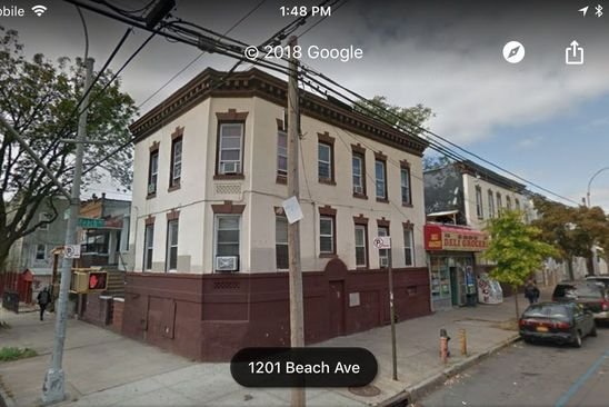 4 bed 2 bath Multi Family at 1207 Beach Ave Bronx, NY, 10472 is for sale at 725k - google static map